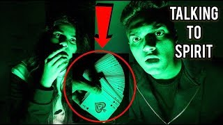 THE CARD GAME AT 3AM (GONE WRONG) | HAUNTED CHALLENGE