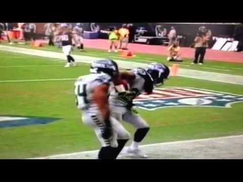 Richard Sherman returns interception for a Touchdown to ...