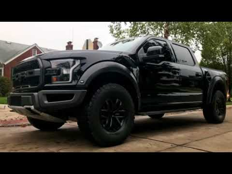 Blacked Out Ford Raptor >> 2018 Ford Raptor Plasti Dip Black Out Youtube