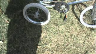 homemade 3 wheel bicycle