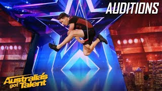Luke Boon is an AMAZING Skipper! | Auditions | Australia's Got Talent