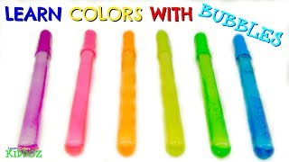 Learn Colors With BUBBLES