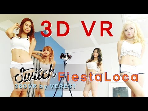 [3D 360 VR] Switch 'FiestaLoca'