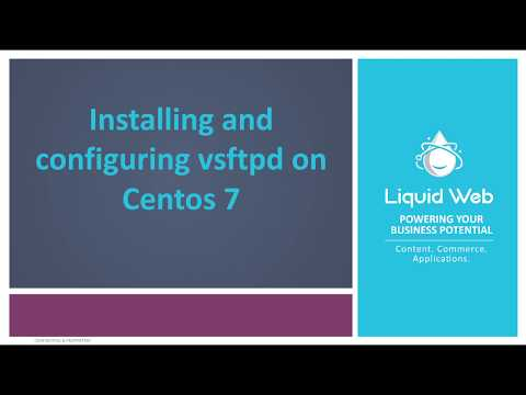 How to Install and Configure vsftpd on CentOS 7