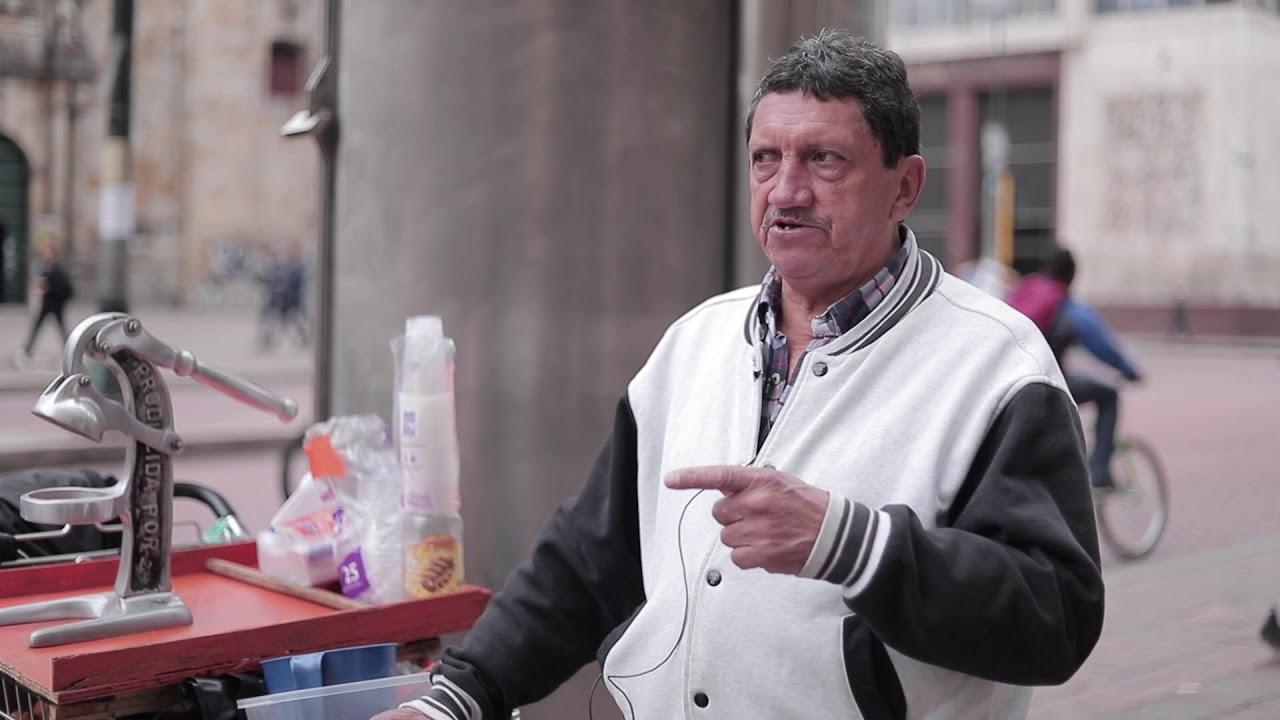 Vendedores ambulantes sin el carro de la Alcaldía