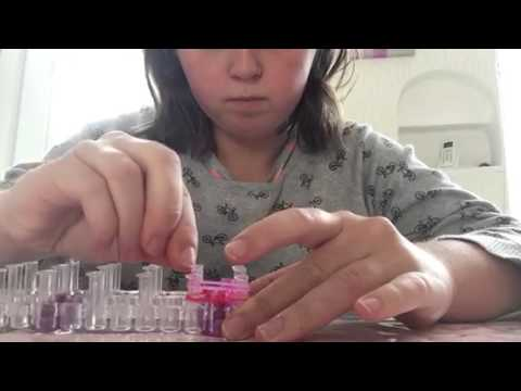 tutoriel comment r aliser un bracelet lastique rainbow loom francais debutant youtube. Black Bedroom Furniture Sets. Home Design Ideas