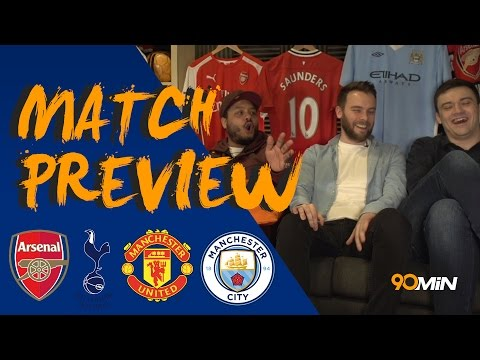Tottenham to batter Man City at the Etihad!? | Depay out, Griezmann in for Man Utd!? | 90min Preview