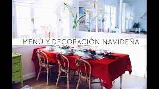 Recetas facilísimas para Navidad y decoración de mesa