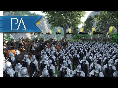 RIVENDELL UNDER SIEGE - Third Age Total War Gameplay