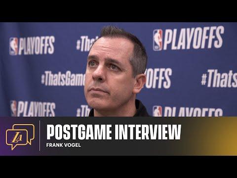 Lakers Postgame: Frank Vogel (6/1/21)