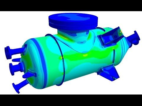 Pressure vessel fatigue calculation according to asme code section viii div 2 part 5 youtube - Asme sec viii div 2 ...