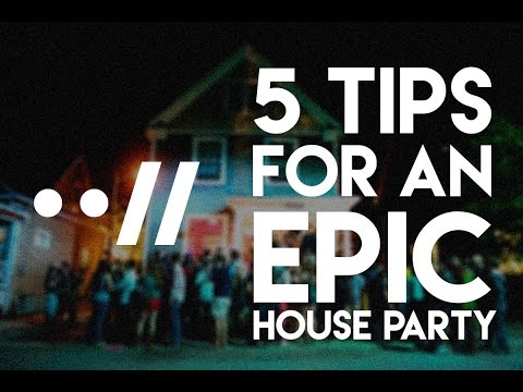 5 AWESOME HOUSE PARTY TIPS VLOG #1