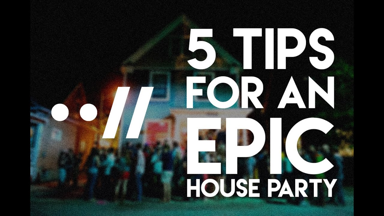 5 AWESOME HOUSE PARTY TIPS VLOG #1 YouTube