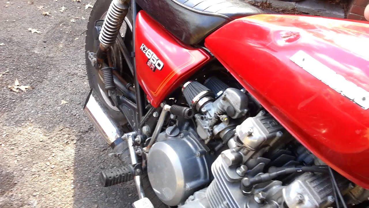 1978 Kawasaki KZ650 SR 4-1