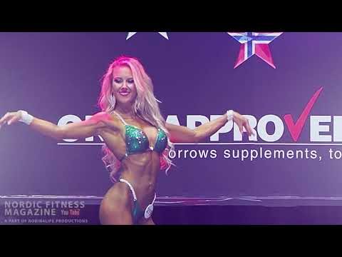 Bikini Fitness Modelwalks, Comparisons And Finals -165cm IFBB Pro Nordic 2019