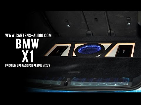 Audio Mobil BMW X1 | Simple Elegant And OEMLooks Installations Cartens Autosound Jakarta