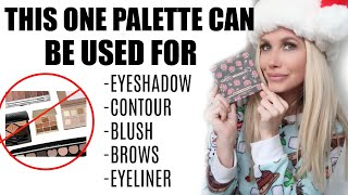 MARIE KONDO YOUR MAKEUP BAG WITH THIS PALETTE!!!