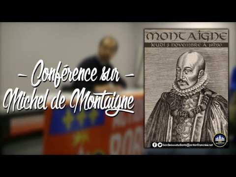 #CONFÉRENCE 14 - MICHEL DE MONTAIGNE PAR HENRI VANGEON