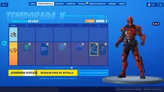 THAT'S THE SKIN FOR LEVEL 100 OF THE FORTNITE SEASON 10 BATTLE PASS
