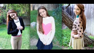 5 Back-to-School/Work Uniform Outfit Ideas!