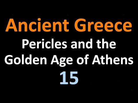 Ancient Greek History - Pericles and the Golden Age of Athen