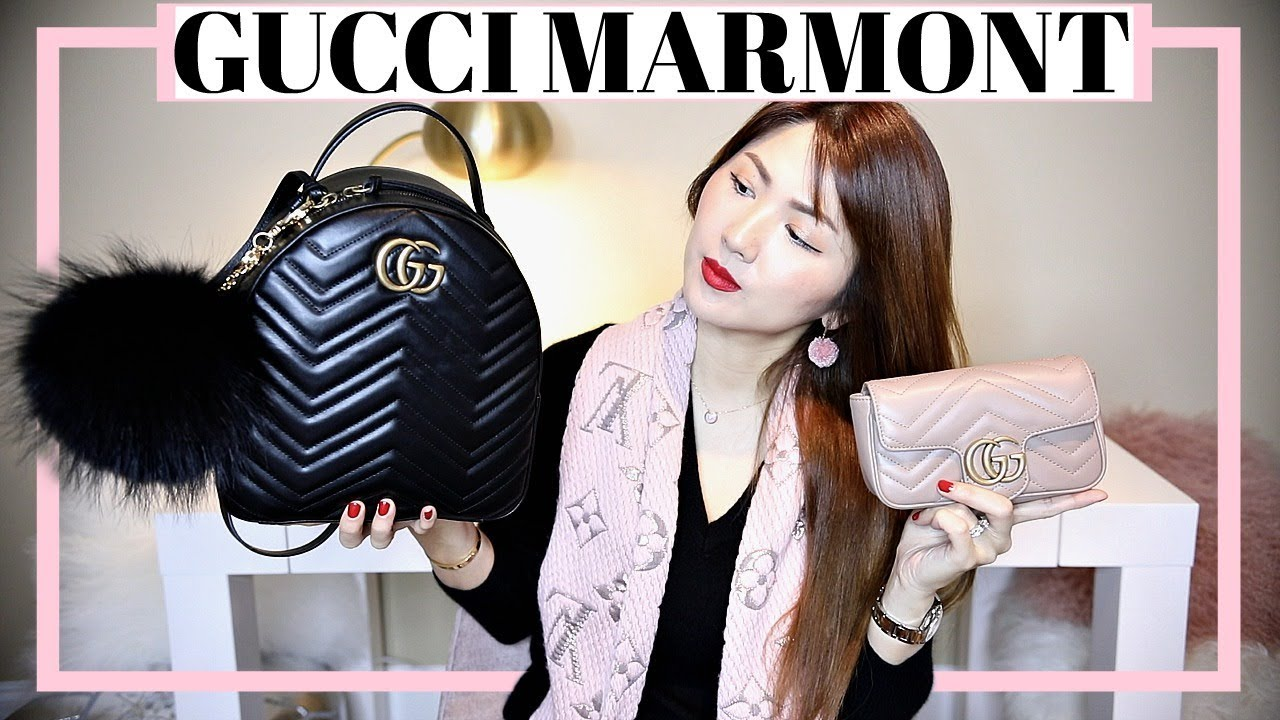 Gucci soft Supreme backpack with appliqués - YouTube