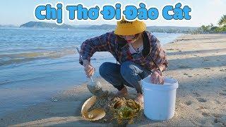 Đi Đào Cát Và Bắt Được Rất Nhiều Thứ Hay Ho Ở Biển