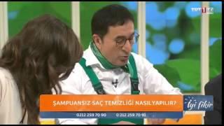 Erkan Şamcı Şampuansız Saç Temizliği