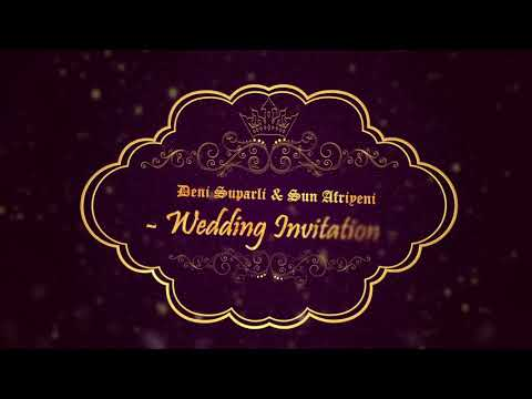 Wedding Invitation Free Template After Effect CC2017