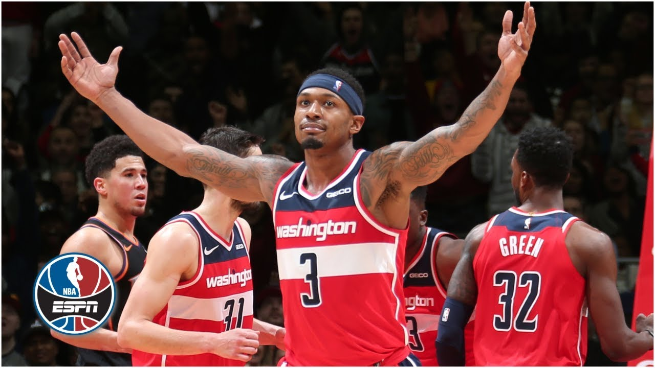 Bradley Beal's 40-point triple-double propels Wizards to 3OT win vs. Suns | NBA Highlights