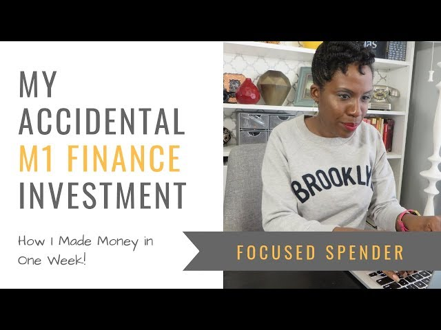 I Accidentally Tried M1 Finance - And Made Money in One Week!