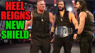 Heel Roman Reigns Revealing New MONSTROUS Shield After Moving To Raw LEAKED - Brock Lesnar & More!