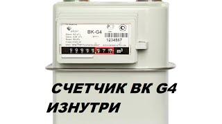 видео газовый счетчик bk g4t