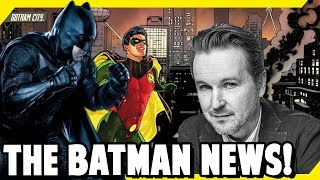 FINALLY New Information About THE BATMAN Movie from Matt Reeves.