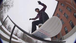 Goeland Snowskate Session