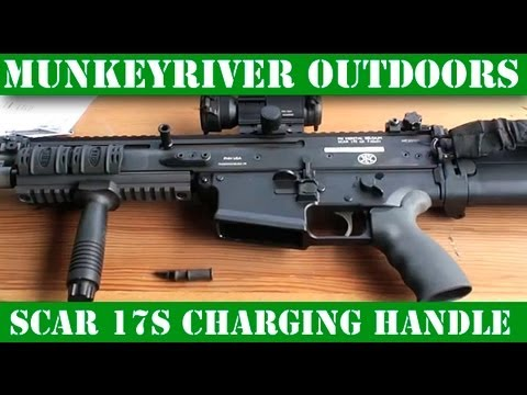 FN SCAR 17s Enhanced Charging Handle from GG&G