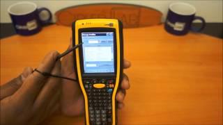 видео Терминалы сбора данных серии Cipherlab 9400