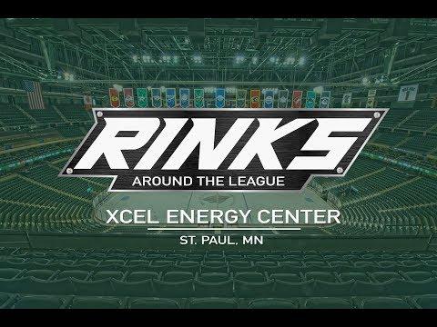 RINKS AROUND THE LEAGUE | Xcel Energy Center.