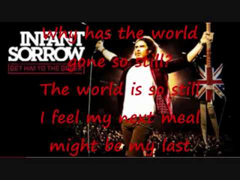 Infant Sorrow - Aldous Snow- Bangers, Beans & Mash (Lyrics)