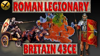 Life as a Roman Legionary during the Invasion of Britain 43AD/CE - FULL EPISODE