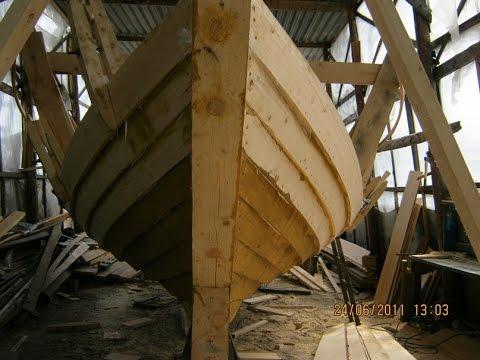 делаю деревянную лодку 1