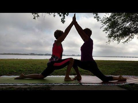 Partner Yoga level 1 5!