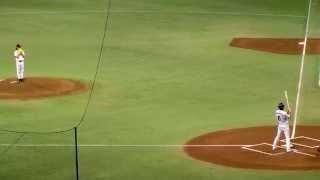 試合前に行われた 亀梨と坂本の真剣一打席対決の様子です。 巨人vs阪神 ...