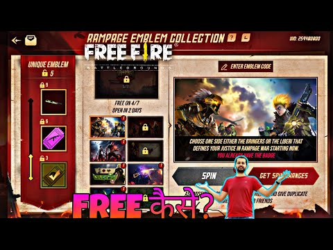 How to collect &shere your emblem in freefire||freefire Emblem event || from YouTube · Duration:  5 minutes 4 seconds