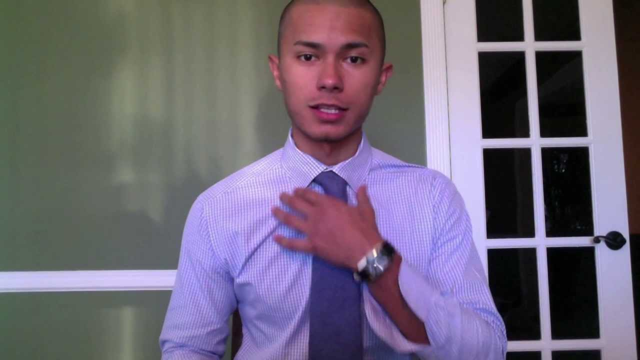 How To Tie A Tie: Double Four Inhand