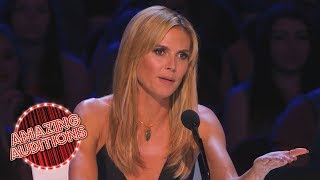 America's Got Talent 2014 - Heidi Klum Gets Into The Act
