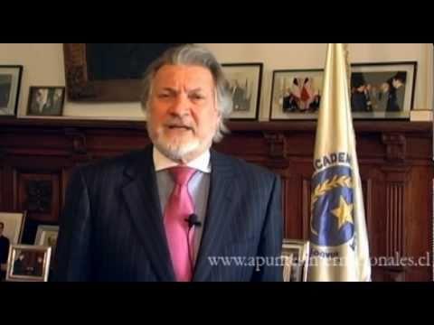 Apuntes Internacionales: presentación del Embajador Pablo Cabrera