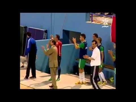Incredible Backheel Goal Futsal!! Morocco League
