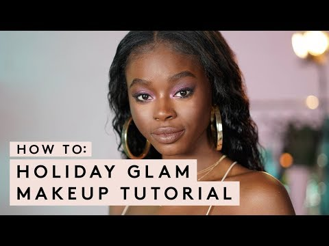 HOW TO: HOLIDAY GLAM MAKEUP TUTORIAL | FENTY BEAUTY