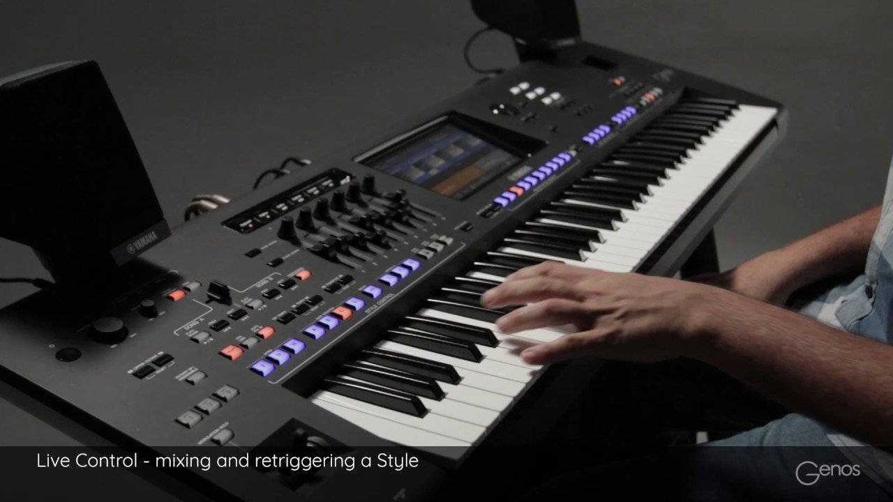 Image Result For Yamaha Genos Youtube